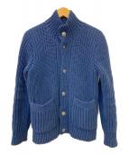 STANDARD CALIFORNIA(スタンダード カリフォルニア)の古着「ニットジャケット」|ネイビー