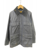 Barbour × Edifice別注(バブアー)の古着「オイルドジャケット」|ネイビー