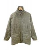 Baebour(バブアー)の古着「キルティングジャケット」|グリーン