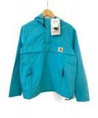 CARHARTT WIP(カーハート)の古着「アノラックパーカー」 ブルー
