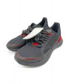adidas(アディダス)の古着「スニーカー」|ブラック×レッド