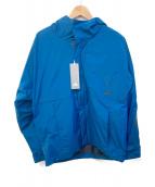 adidas(アディダス)の古着「ウインドブレーカー」|ブルー