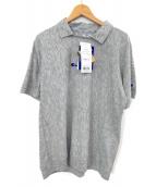Champion(チャンピオン)の古着「ポロシャツ」|グレー