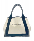 BALENCIAGA(バレンシアガ)の古着「ネイビーカバ S」
