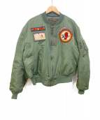 TED COMPANY(テッドカンパニー)の古着「MA-1ジャケット」|オリーブ