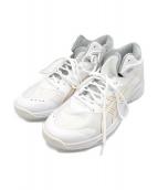 asics(アシックス)の古着「バスケットボールシューズ」 ホワイト