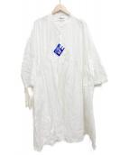 Yarmo(ヤーモ)の古着「ワンピース」 ホワイト
