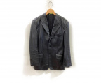 Paul Smith London(ポールスロンドン)の古着「レザージャケット」 ブラック