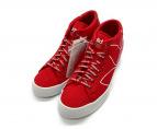 adidas(アディダス)の古着「COURTVANTAGE HEEL コートバンテージヒール」 レッド