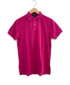 RALPH LAUREN(ラルフローレン)の古着「ポロシャツ」|ピンク