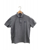 BURBERRY BLACK LABEL(バーバリーブラックレーベル)の古着「ポロシャツ」|グレー