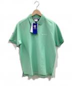 Champion()の古着「ポロシャツ」 グリーン