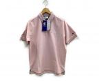 Champion()の古着「ポロシャツ」 ピンク