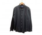 RALPH LAUREN(ラルフローレン)の古着「長袖シャツ」 ブラック