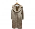 LE CIEL BLEU(ルシェルブルー)の古着「ウールコート」|ベージュ