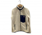 LEVI'S(リーバイス)の古着「ボアジャケット」|アイボリー×ネイビー