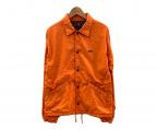 ALPHA(アルファ)の古着「コーチジャケット」|オレンジ