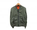 ()の古着「MA-1ジャケット」 オリーブ