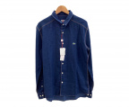 LACOSTE LIVE(ラコステライブ)の古着「長袖シャツ」|ブルー