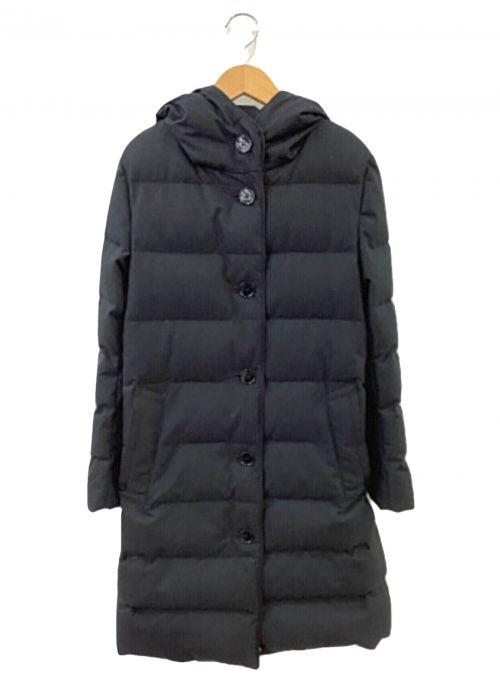 MACKINTOSH(マッキントッシュ)MACKINTOSH (マッキントッシュ) フーデットダウンコート ブラック サイズ:SIZE 34の古着・服飾アイテム