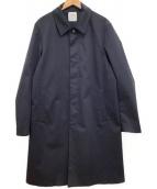 UNITED ARROWS TOKYO(ユナイティッドアローズトウキョウ)の古着「スリーレイヤーキャバステンカラーコート」|ネイビー