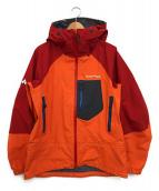 mont-bell(モンベル)の古着「ダイアナクションパーカ」|オレンジ
