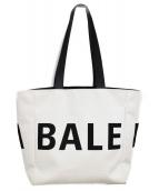 BALENCIAGA(バレンシアガ)の古着「18AW/キャンバストートバッグ」|ホワイト