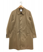 UNITED TOKYO(ユナイテッドトウキョウ)の古着「ボンディングギャバステンコート」|ベージュ