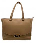FURLA(フルラ)の古着「ハンドバッグ」|ブラウン