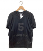 BLACK COMME des GARCONS×NIKE(ブラックコムデギャルソン×ナイキ)の古着「ゲームシャツ」|ブラック