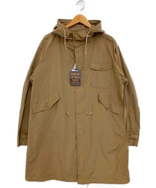 WOOLRICH(ウールリッチ)WOOLRICH (ウールリッチ) ナイロンm-51パーカー ベージュ サイズ:Mの古着・服飾アイテム
