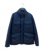 WOOLRICH()の古着「リュクスフィールドジャケット」 ネイビー