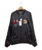 AVIREX(アヴィレックス)の古着「スカジャン」|ブラック