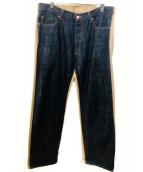 DAYTONA(デイトナ)の古着「デニムチノ切替パンツ」|インディゴ