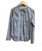 FWk Engineered Garments(エフダブリューケーエンジニアードガーメンツ)の古着「シャンブレーシャツ」|インディゴ