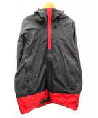 Karrimor(カリマー)の古着「イーデイルジャケット」|ブラック×レッド