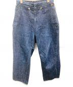 TUKI(ツキ)の古着「デニムパンツ」 インディゴ