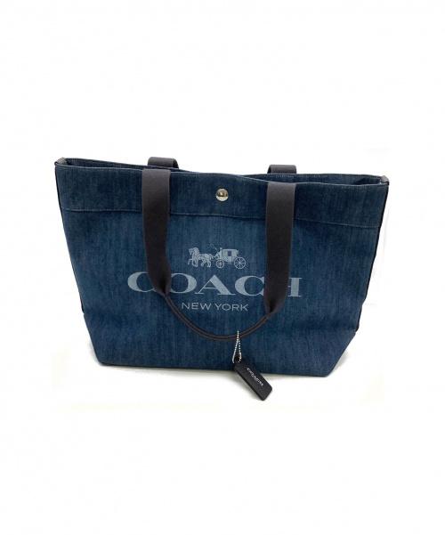 COACH(コーチ)COACH (コーチ) トートバッグ インディゴ F25902の古着・服飾アイテム