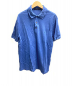 LOUIS VUITTON(ルイ ヴィトン)の古着「ポロシャツ」|ブルー