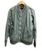 BEAMS()の古着「エフェクターMA-1ジャケット」|グリーン