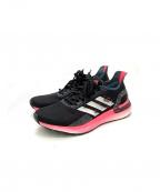 adidas()の古着「ランニングシューズ」|ブラック×ピンク