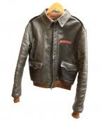 TOYS MCCOY(トイズマッコイ)の古着「A-2フライトジャケット」|ブラウン