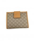 CELINE(セリーヌ)の古着「2つ折りがま口財布」|ベージュ