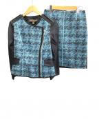 LOUIS VUITTON(ルイ ヴィトン)の古着「切替セットアップ」|ブラック×ブルー