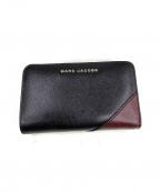 MARC JACOBS(マークジェイコブス)の古着「コンパクト長財布」|ブラック