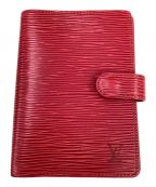 LOUIS VUITTON()の古着「手帳カバー」|レッド