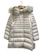 自由区(ジユウク)の古着「ラクーンファー付ダウンコート」|ホワイト