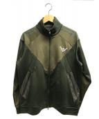 adidas originals(アディダスオリジナル)の古着「トラックジャケット」|カーキ