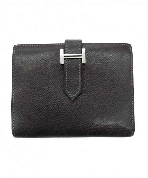 HERMES(エルメス)HERMES (エルメス) べアン・コンパクト/2つ折り財布の古着・服飾アイテム