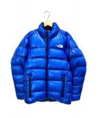 THE NORTH FACE(ザノースフェイス)の古着「アルパインヌプシジャケット」 ブルー